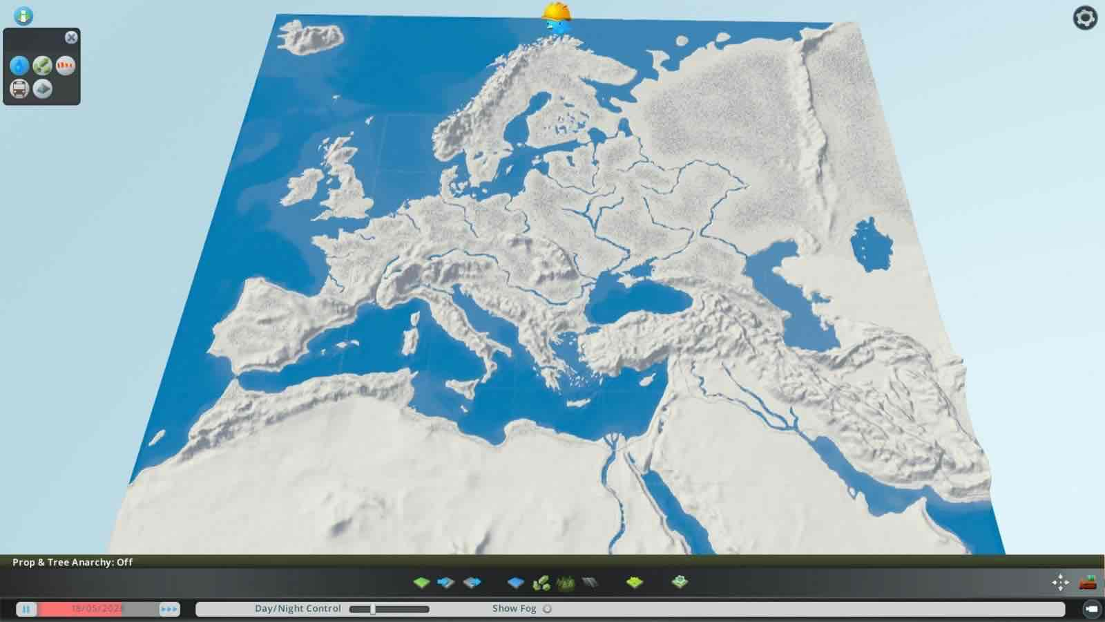 Image of: Europe And The Middle East Mod For Cities Skylines