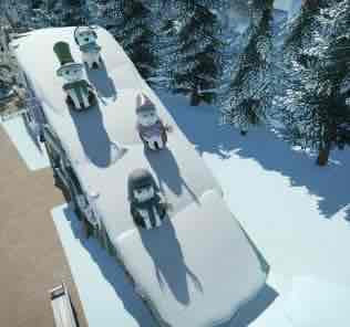 Little Snowmann Shop Blueprint for Planet Coaster