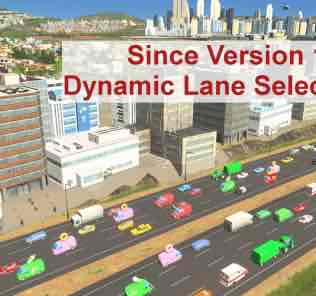 Traffic Manager: President Edition Mod for Cities Skylines