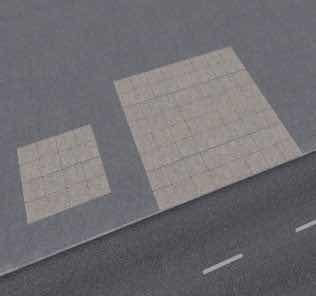Cobblestone Decal 1 Mod for Cities Skylines