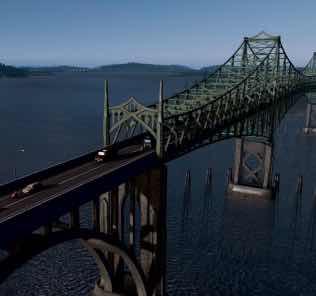 McCullough Memorial Bridge Mod for Cities Skylines