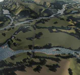 Old Man River Mod for Cities Skylines