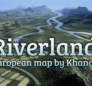 Riverlands Mod for Cities Skylines