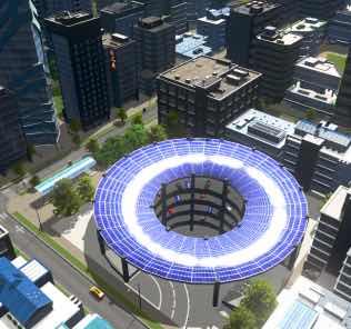 Solar Generator - Underground Parking Lot Mod for Cities Skylines