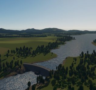 Vanilla Lake - Updated 2019 Mod for Cities Skylines