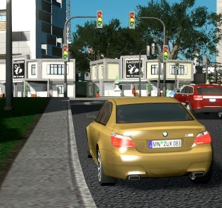 2010 BMW M5 Mod for Cities Skylines