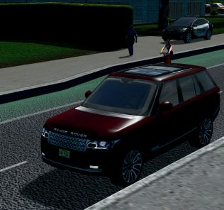 2017 Land Rover Range Rover Mod for Cities Skylines