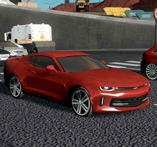 2018 Chevrolet Camaro Mod for Cities Skylines