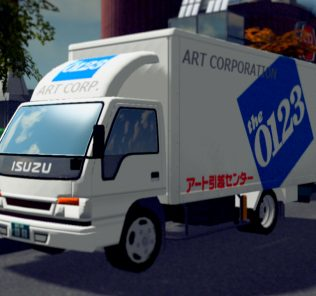 Art-moving-truck Mod for Cities Skylines