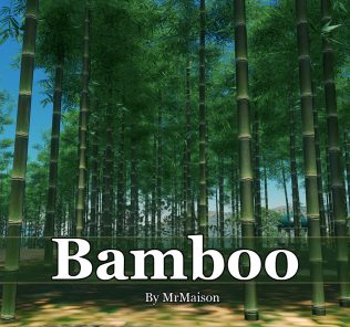 Bamboo Mod for Cities Skylines