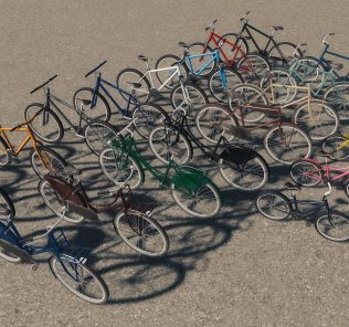 Bicycles Mod for Cities Skylines