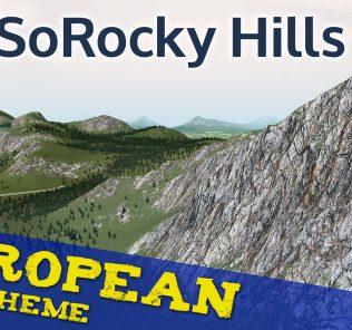 NotSoRocky European Map Theme Mod for Cities Skylines