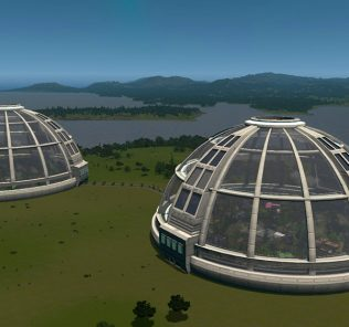 Quad's Ecodome Mod for Cities Skylines