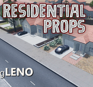 Residential Props 2 Mod for Cities Skylines