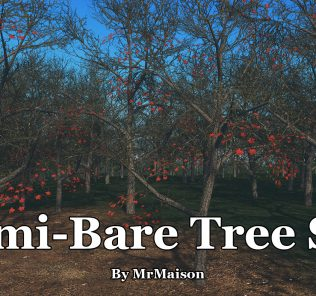 Semi Bare Tree Set Mod for Cities Skylines