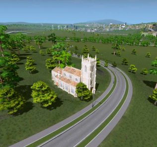 XAVE Appleby Church Mod for Cities Skylines