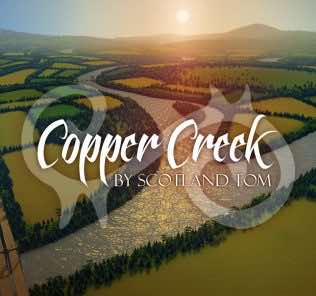 Copper Creek Mod for Cities Skylines