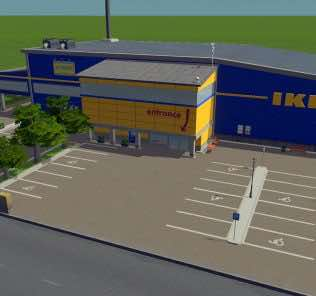 IKEA by Ozo Mod for Cities Skylines