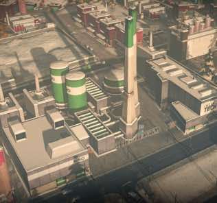 Large Advanced Incineration Plant Mod for Cities Skylines