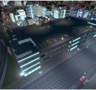 Large Parking Garage / Car Park Mod for Cities Skylines