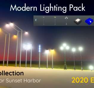 Modern Lighting Pack - 2020 Edition Mod for Cities Skylines