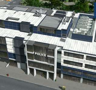 Police Headquarters Mod for Cities Skylines