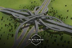 Flatlands (2.5) Mod for Cities Skylines