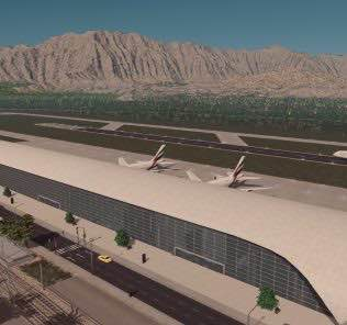 Joak's International Airport Mod for Cities Skylines