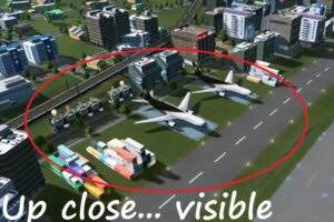 Adaptive Prop Visibility Distance Mod for Cities Skylines