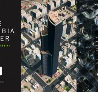Columbia Center Mod for Cities Skylines