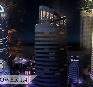 Cynth's Pearl Tower (Residential Growable) Mod for Cities Skylines