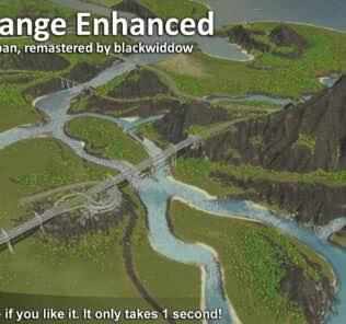 Delta Range Enhanced Mod for Cities Skylines