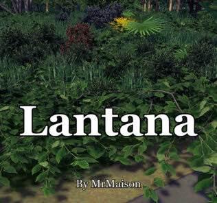 Lantana Mod for Cities Skylines