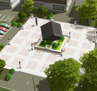 Modern Art Plaza Mod for Cities Skylines