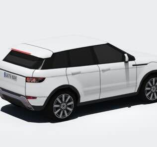 RR Evoque (AD UPDATE) Mod for Cities Skylines