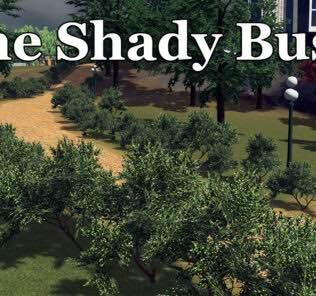 The Shady Bush Mod for Cities Skylines