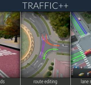 Traffic++ Mod for Cities Skylines