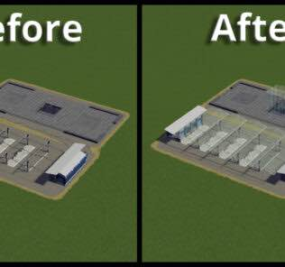 Transparency LODs Fix Mod for Cities Skylines