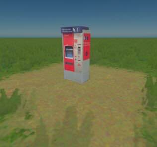 ticket machine Deutsche Bahn Fahrkartenautomat Mod for Cities Skylines
