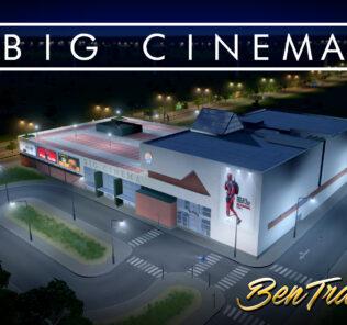 Big Cinema Mod for Cities Skylines