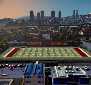 Gula's Bantam Football Park (14x9) Mod for Cities Skylines