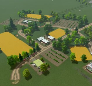 Large Agricultural Field Mod for Cities Skylines