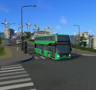 Scania Citywide LFDD Mod for Cities Skylines