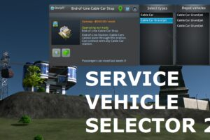 Service Vehicle Selector 2 Mod for Cities Skylines
