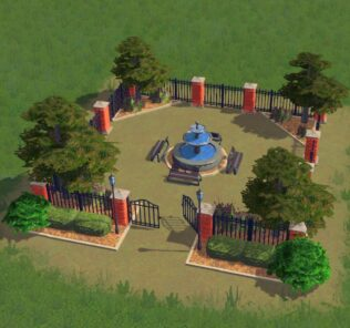 Soldyne's Iron Fence x4 Mod for Cities Skylines