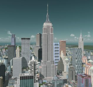The Empire State Building Mod for Cities Skylines