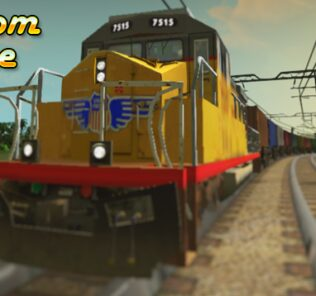 Union Pacific Cargo Train Mod for Cities Skylines