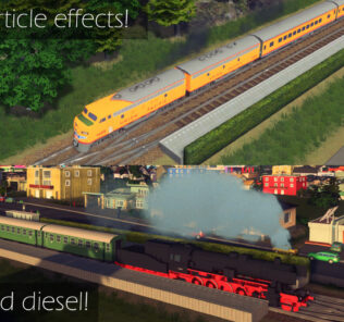 Vehicle Effects 1.9.1 Mod for Cities Skylines