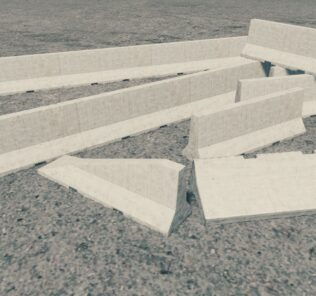 Concrete barrier - PACK Mod for Cities Skylines