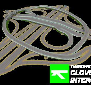 Timboh's Cloverstack Interchange Mod for Cities Skylines